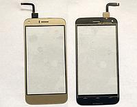 Оригинальный тачскрин / сенсор (сенсорное стекло) для UMi London (золотой цвет)