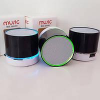Портативный мини-динамик колонка SPS S10+BT LED , музыкальная колонка