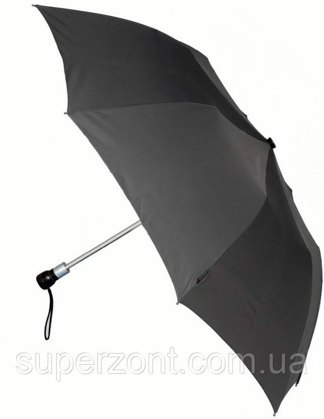 Удобный зонт автомат EuroSCHIRM Birdiepal Business 1014-BGR/SU12382 серый, антиветер