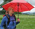Женский складной зонт, механика EuroSCHIRM Birdiepal Octagon W288-181660TP/SU17461 красный, фото 9
