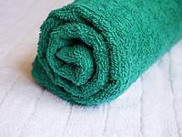 Полотенце махровое Пакистан 50х90 темно-зеленое