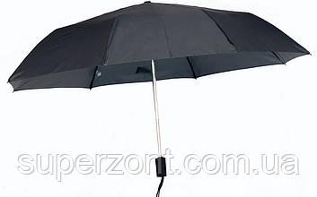 Черный складной зонт, автомат EuroSCHIRM Birdiepal Surprise 3427-BBL/SU17428