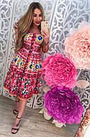 Женский стильный летний сарафан люкс копия, фото 1