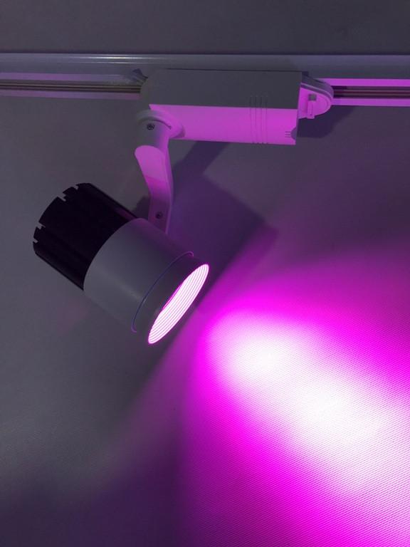 Светодиодный трековый фитосветильник SL -20TRLWW2 20W (full spectrum led) Код.58931