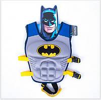 Жилет для плавания детский, Бетмен, 3-6 лет