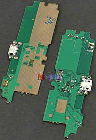 Плата с коннектором USB и микрофоном для Lenovo A850