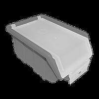 Ящик складской металлик с прозрачной крышкой 175х110х75 мм