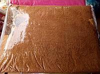 Плед из бамбука с вышивкой 200*220 терракота 2