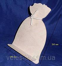 Подставка Мешок под книгу планшет 26.5х19,5 см фанера заготовка для декора