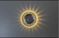 Точечный светильник (спот)cо встроенной LED подсветкой,7314 White