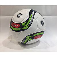 Мяч футбольный полосатый