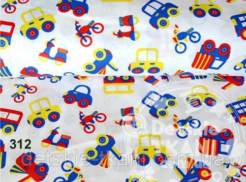 Лоскут ткани №312 размером 50*80 см
