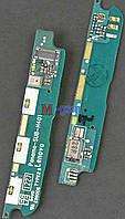 Плата с коннектором USB и микрофоном для Lenovo A789