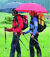 Мужской прочный механический зонт-трость EuroSCHIRM Swing Handsfree W2H69120/SU17745 синий, фото 8