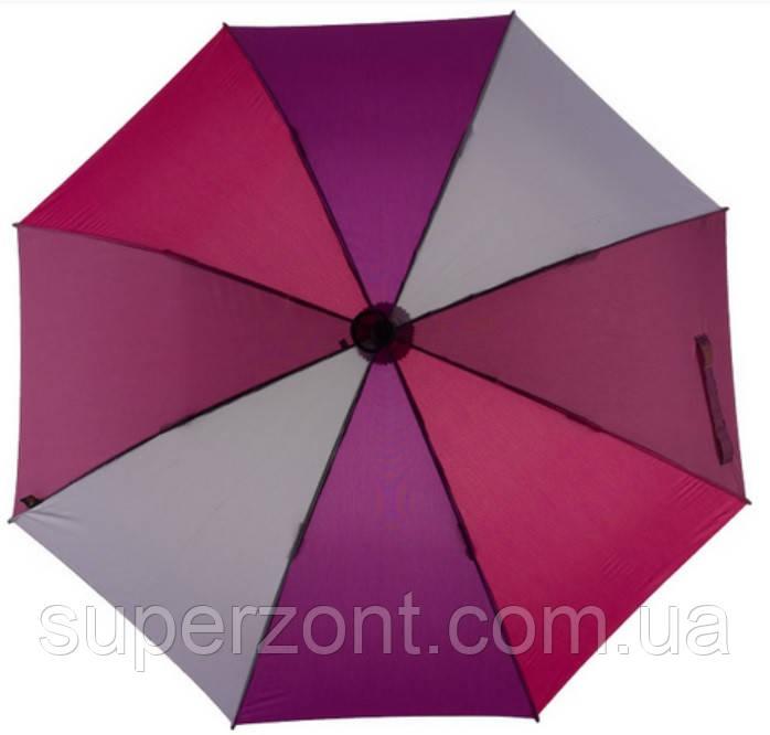 Яркий механический зонт-трость EuroSCHIRM Swing Handsfree W2H6-CW2/SU17686 фиолетовый