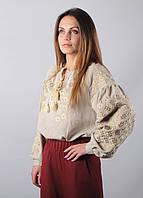 Блуза Зоряна Бежевая
