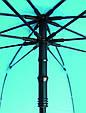 Оригинальный механический зонт-трость EuroSCHIRM Swing Liteflex W2L6-CW3/SU17682 оранжевый, фото 3