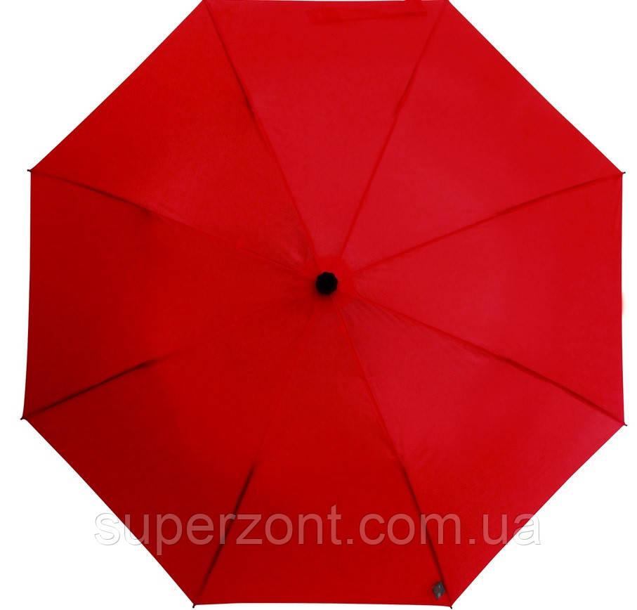 Красный механический женский зонт-трость с большим куполом EuroSCHIRM teleScope Handsfree 1H169027/SU17614