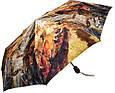 Компактный автоматический женский зонт ZEST (ЗЕСТ) Z53964-2 Антиветер!, фото 2