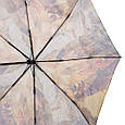 Компактный автоматический женский зонт ZEST (ЗЕСТ) Z53964-2 Антиветер!, фото 4