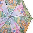 Облегченный детский зонт-трость механический ZEST (ЗЕСТ) Z21565-3 Волшебник Изумрудного города, фото 4