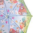 Облегченный детский зонт-трость механический ZEST (ЗЕСТ) Z21565-6 Буратино, фото 4