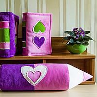 """Интерьерная декоративная подушка """"Книжка розовая"""""""