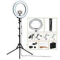 Кольцевая круглая лампа для визажиста PBL18 Standart