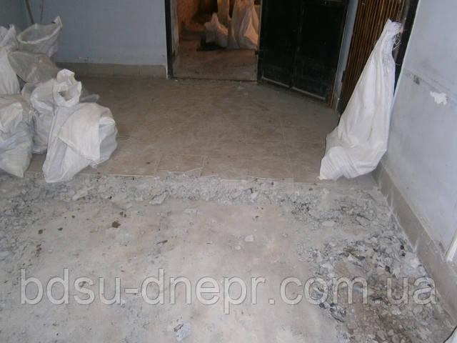 Демонтаж пола в Днепропетровске фото