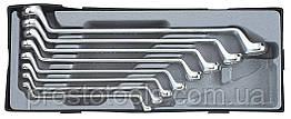 Набор ключей накидных под 75° 8 пр. Force T5081