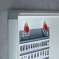 Доска-витрина 2х3 сух.-магнитная модель 4 4xA4 (ключ)  51x68 (GS44A4)