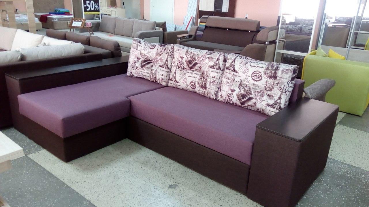 """Угловой диван, мягкий уголок для гостиной """"Новый""""  - Мебельный БУМ в Сумах"""