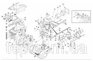 Запасные части к горелке Riello RLS 300/400 BP MX