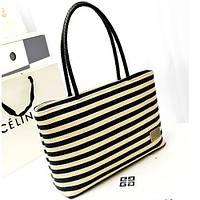 Женская сумка с полосатым принтом СС7333