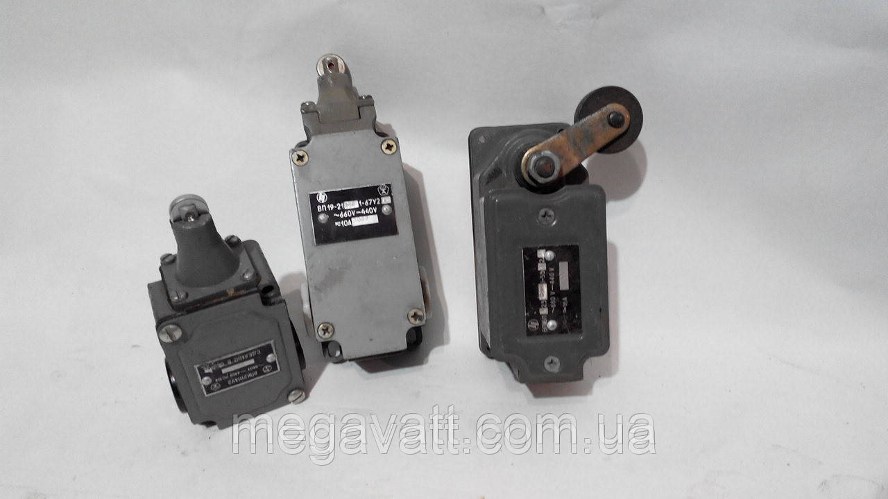 Концевые выключатели ВП-16 - МегаВатт-Прибор в Киеве