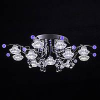 Галогенная люстра с диодной подсветкой (лампочки в комплекте) P5-Y0678/13 CH/LOW