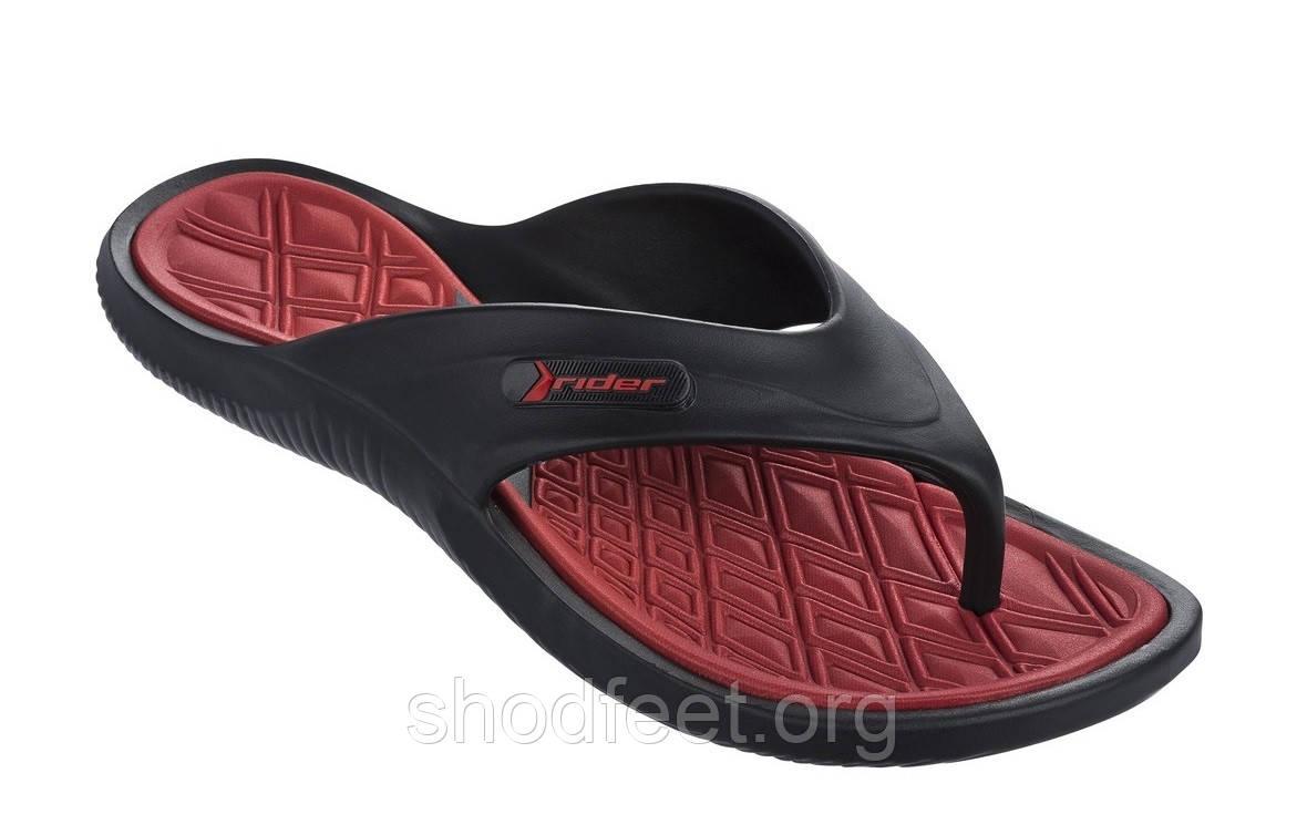 Мужские вьетнамки Rider Cape X AD 81900-24136 Black Red