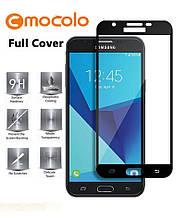 Защитное стекло Mocolo 2.5D 9H на весь экран для Samsung J7 2017 J730 черный