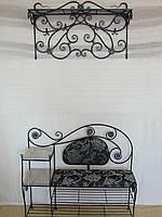 Набор кованой мебели в прихожую  -  028, фото 1