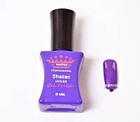 Гель лак Master Professional 10 мл №059 - Темно-фиолетовый