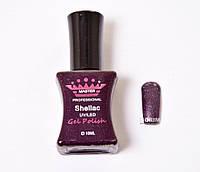 Гель лак Master Professional 10 мл №137 - Темно-фиолетовый с блеском