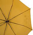 Надежный женский зонт, полуавтомат, антиветер AIRTON (АЭРТОН) Z3631NS-4182 желтый, фото 3