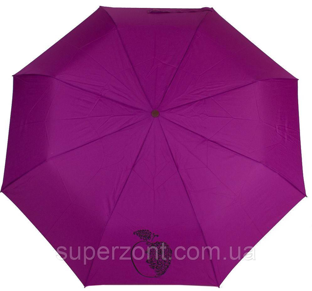 Яркий женский зонт, полуавтомат, антиветер AIRTON (АЭРТОН) Z3631NS-4188 фиолетовый