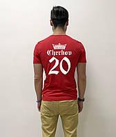 Мужская футболка с фамилией или именем и цифрой., фото 1