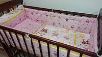 Комплект детского постельного белья для новорожденных