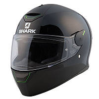 Мотошлем Shark Skwal blank black черный, XL