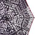 Зонт женский полуавтомат AIRTON (АЭРТОН) Z3615-98  Черный Антиветер, фото 3