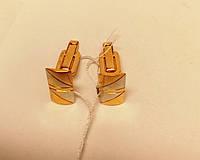 Запонки золотые 7,08 грамм, б/у.