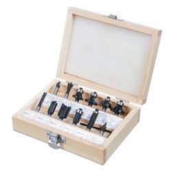 Сверла-фрезы, набор 12 шт., хвостовик 8 мм (шт.) VERTO (60H010), фото 2