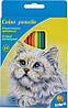 "Карандаши цветные Kite ""Животные"" 18 цветов K15-052"